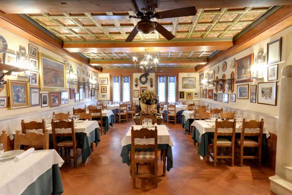 restaurantes para grupos segovia