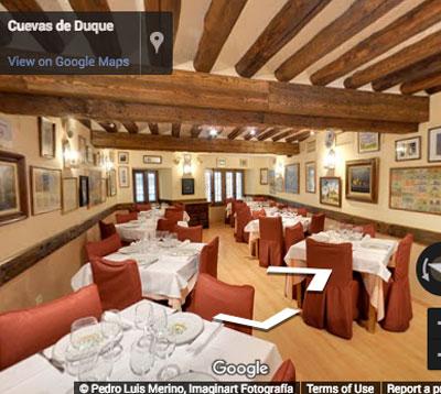 restaurante duque comedor cocina