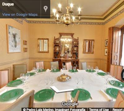 restaurante duque comedor privado