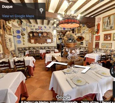 restaurante duque comedor riaza