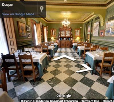 restaurante duque comedor san ildefonso