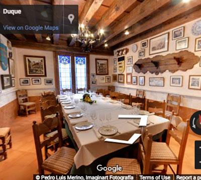 restaurante duque comedor santa columba