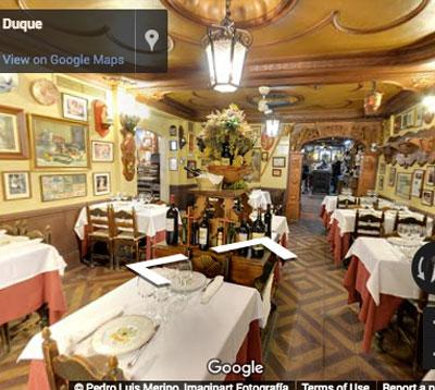 restaurante duque comedor sepulveda