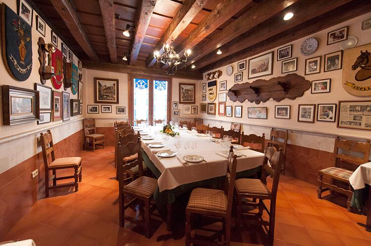 restaurantes para grupos en segovia