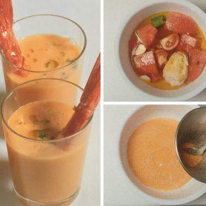 receta gazpacho de sandia