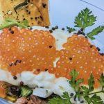 tartar de salmon ahumado