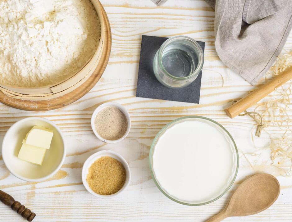 pan de leche receta facil