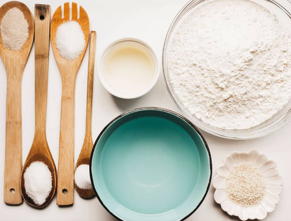 receta para hacer pan frances