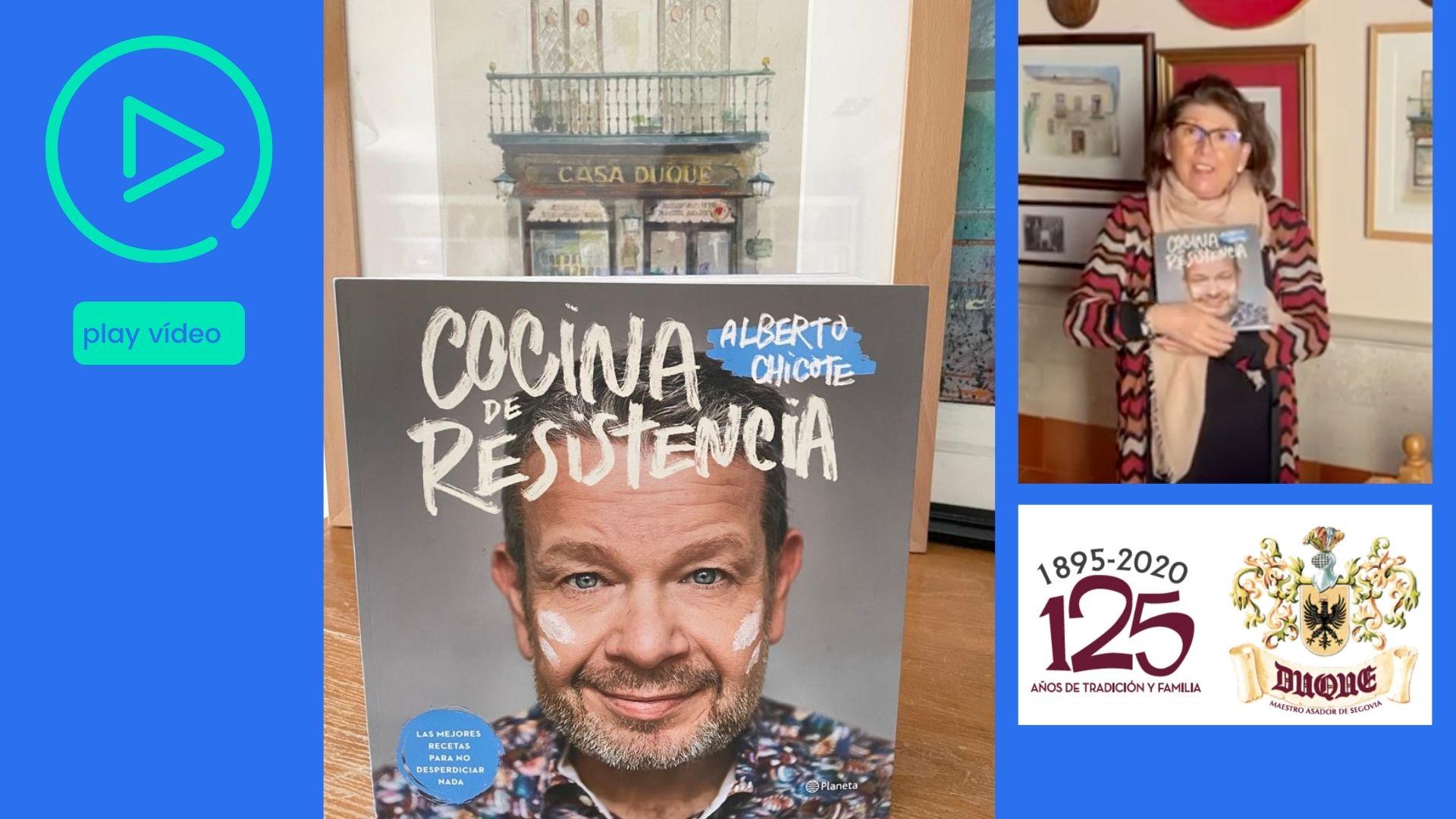Resistiremos juntos con la cocina de Alberto Chicote y Casa Duque